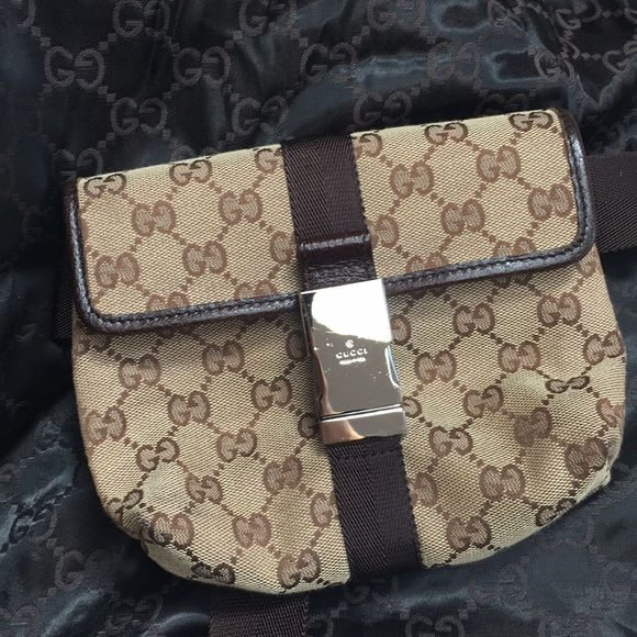 e60094e4bac0 Gucci Bags | Authentic Waist Pouch | Poshmark